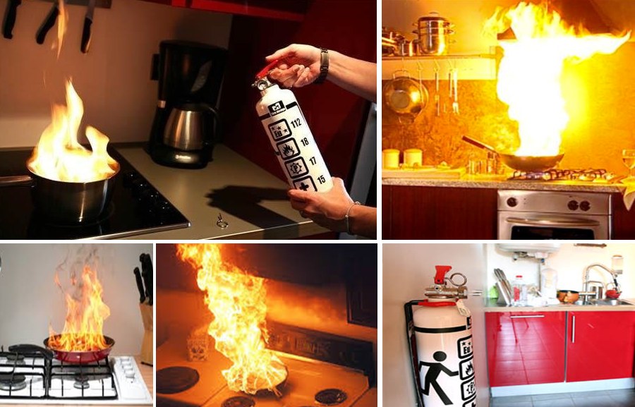 Do You Have A Fire Extinguisher In Your Kitchen Fire Safety Nation